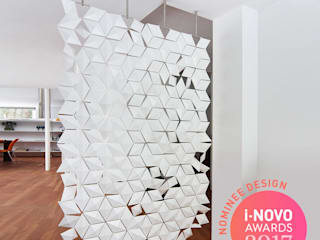AWARD NOMINATION FOR HANGING ROOM DIVIDER FACET de Bloomming Moderno