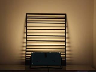 Lampe design issue d'un ancien radiateur vintage « Philips » des années 60/70.:  de style  par ArtJL