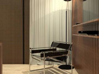 Home Office Fitness moderno por Caroline Berto Arquitetura Moderno