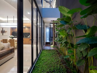 'S' house Simple Projects Architecture Taman zen Grey