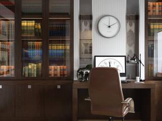 Рабочие кабинеты в . Автор – ДизайнРемонт