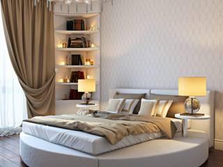 Спальни в . Автор – ДизайнРемонт