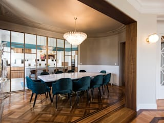 Cocinas de estilo  por LA CUISINE DANS LE BAIN SK CONCEPT