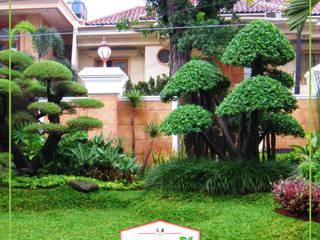 Taman Rumah tamano Bangunan Kantor Tropis Green