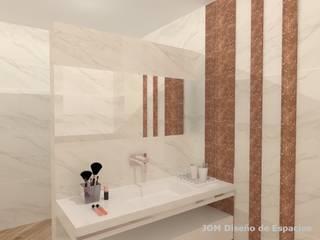 Baño femenino Baños modernos de JOM Diseño de Espacios Moderno