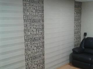 Salon moderne par EFM papéis de parede Moderne