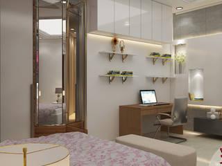 BEDROOM VIEW 4:  Bedroom by MAD DESIGN