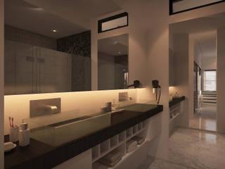 Winston's Master Bedroom Moderne badkamers van Chandra Cen Design Modern