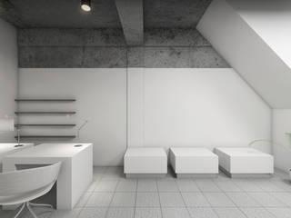 Nail Chamber Moderne winkelruimten van Chandra Cen Design Modern