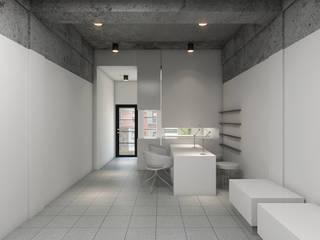 Nail Chamber Espaços comerciais modernos por Chandra Cen Design Moderno