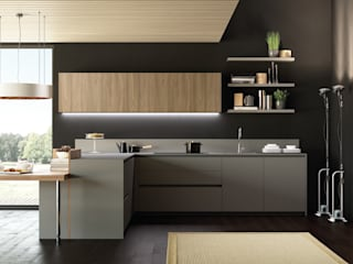 MT210 fenix / SINCRO wood:   by 義葳德名廚 E-CUCINE