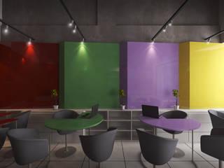 SIJ Moderne winkelruimten van Chandra Cen Design Modern
