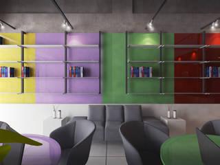 SIJ Espaços comerciais modernos por Chandra Cen Design Moderno