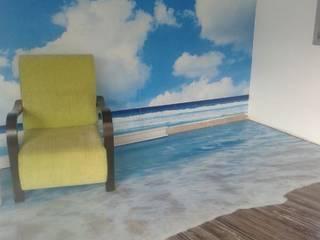 ALTAŞ DEKORATİF ÇÖZÜMLER – Polimeric 3D Floor:  tarz Duvarlar