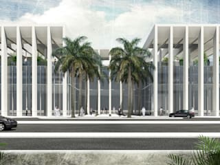 ATAD OFFICE BUILDING: modern  by 2K Architects Planners Engineers, Modern