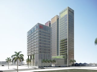 5D BUSINESS PARK by 2K Architects Planners Engineers