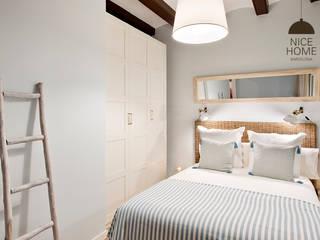 Proyecto Ramblas Nice home barcelona Habitaciones de estilo mediterráneo
