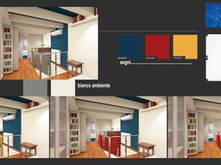 Casa MG - l'uso del colore:  in stile  di arch. Paolo Pambianchi