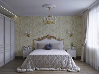 Classic style bedroom by Aleksandra Kostyuchkova Classic
