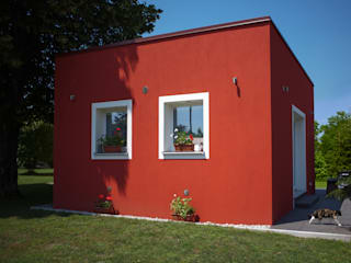 Novello Case in Legno Wooden houses Wood Red