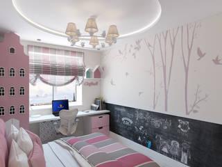 ЖК Столичный - детская: Детские комнаты в . Автор – Мастерская дизайна Онищенко Марии