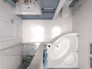 ЖК Столичный - ванная комната Ванная в классическом стиле от Мастерская дизайна Онищенко Марии Классический