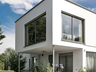 por wir leben haus - Bauunternehmen in Bayern Moderno