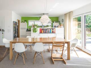 modern Dining room by wir leben haus