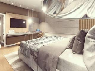 Bedroom by Miragem Arquitetura e Engenharia,