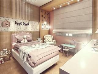 Habitaciones para niños de estilo moderno de Miragem Arquitetura e Engenharia Moderno