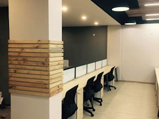 Office space for Think valley by INTROSPECS Minimalist