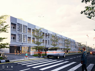 DRAMAGA COMMERCIAL: Ruang Komersial oleh aksen architectural visualization,