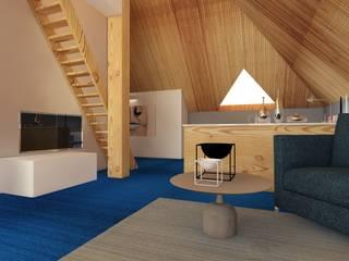 Casa in Svizzera di Rizzotti Design Moderno