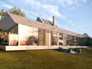 Glazed Extension for Dutch Gabled Property. от HollandGreen Классический