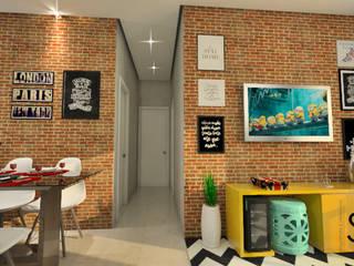 Reforma de Apartamento: Salas de jantar  por Sitá Arquitetura e Urbanismo,Industrial