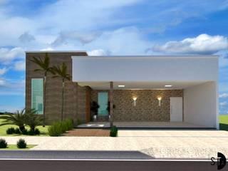 Residencia Cravinhos: Condomínios  por Sitá Arquitetura e Urbanismo,Moderno