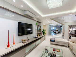 RHAJA ARQUITETURA Modern living room