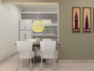 Condominio Residencial Four:   por Sitá Arquitetura e Urbanismo,Eclético