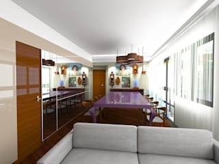 eclectic  by Gislene Soeiro Arquitetura e Interiores, Eclectic