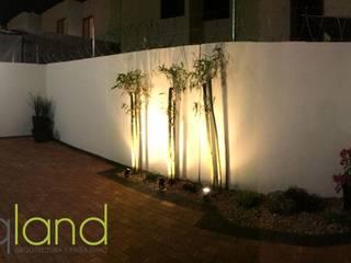 Proyecto Campo Grande: Jardines de estilo mediterraneo por Arqland arquitectura y paisajismo