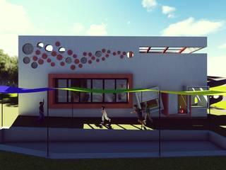 아동들을 위한 놀이공간 [사각놀이터] by 건축스튜디오 사람