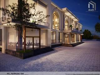 Dự án Trung Tâm Thương Mại bởi AnS - Architecture Style Hiện đại