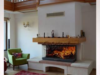 ÇAĞLAR ŞÖMİNE A.Ş Paisajismo de interiores Madera Acabado en madera