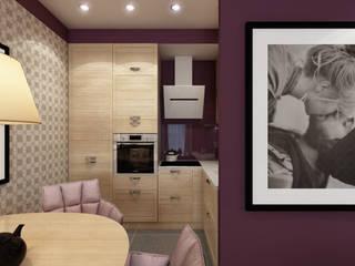 Cocinas de estilo  de Студия дизайна и визуализации интерьеров Ивановой Натальи., Moderno