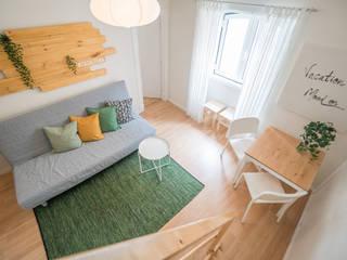 YS PROJECT DESIGN SalonesAccesorios y decoración Acabado en madera