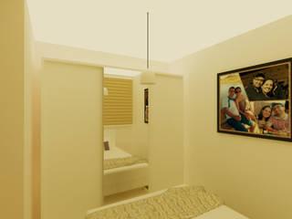 Projeto de interior: Quartos  por AGV Construtora e Arquitetura,Moderno