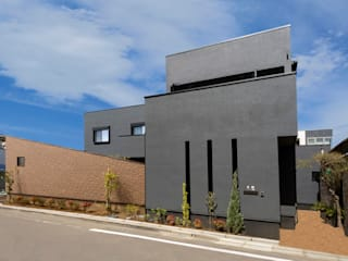 house H: 田所裕樹建築設計事務所が手掛けた木造住宅です。