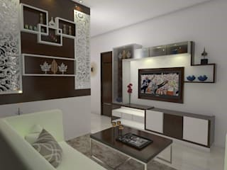 Living Room Modern living room by homify Modern Plywood