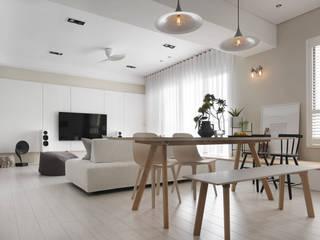 غرفة السفرة تنفيذ 賀澤室內設計 HOZO_interior_design