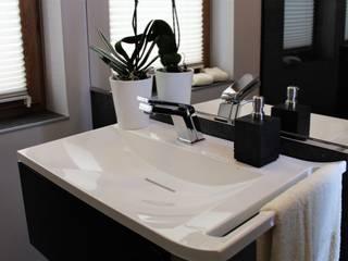 realizacja łazienki: styl , w kategorii Łazienka zaprojektowany przez archJudyta Aranżacja Wnętrz